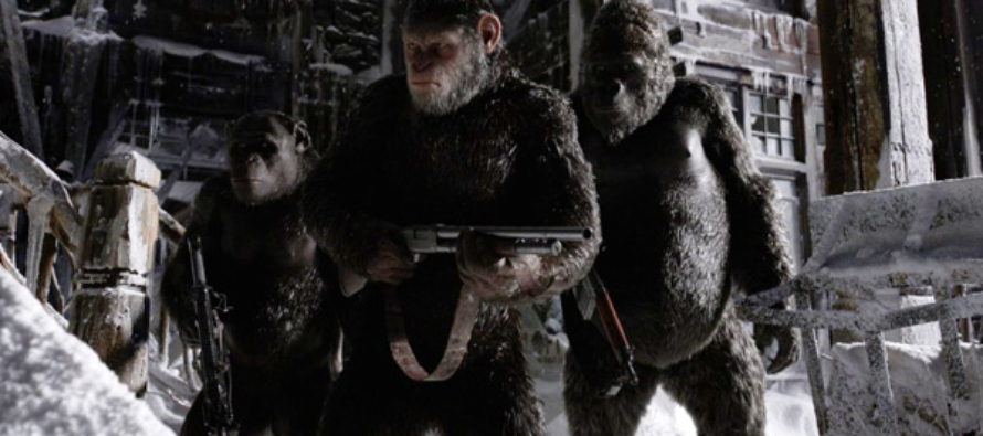 Segundo tráiler para War for the Planet of the Apes