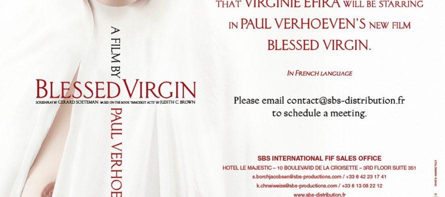 Lo nuevo de Verhoeven se llamará Blessed Virgin