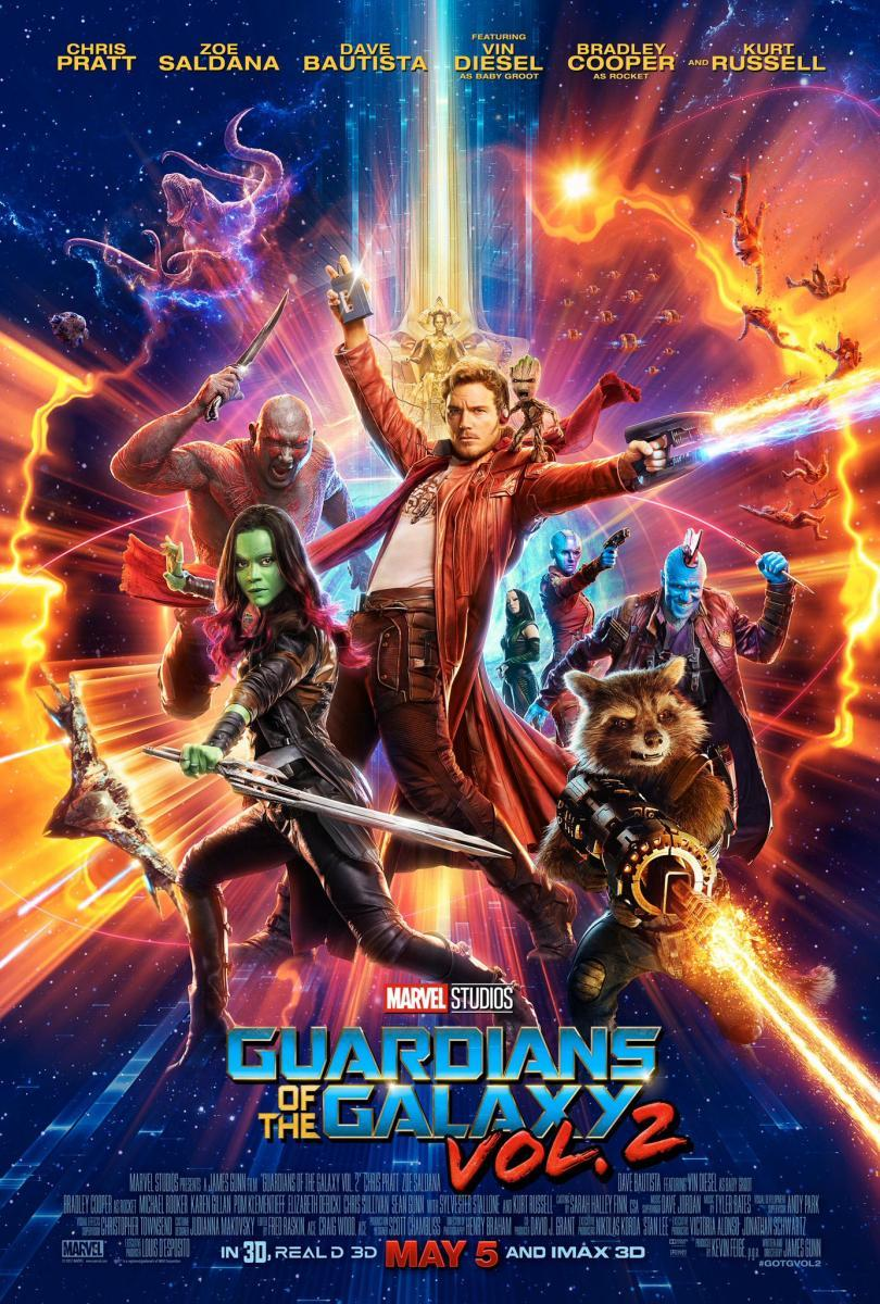 guardians of the galaxy 2 critica poster