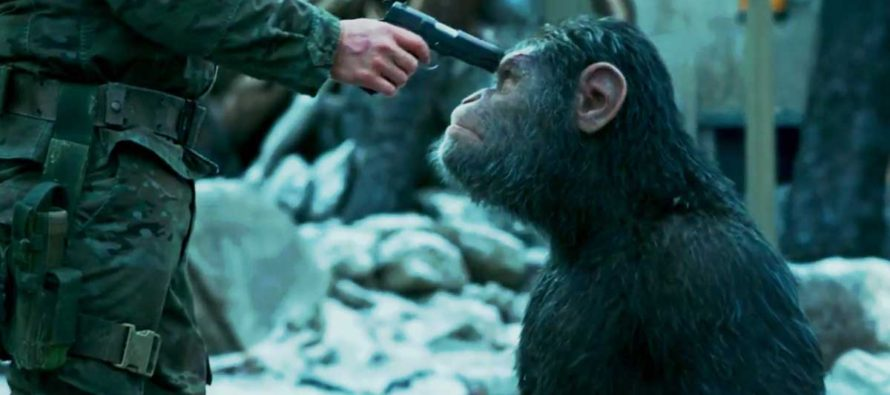 Tercer tráiler y nuevo poster para War for the Planet of the Apes