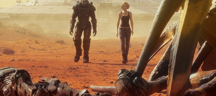 Tráiler para Starship Troopers: Traitor of Mars
