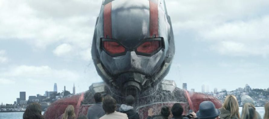 Tráiler para Ant-Man and the Wash