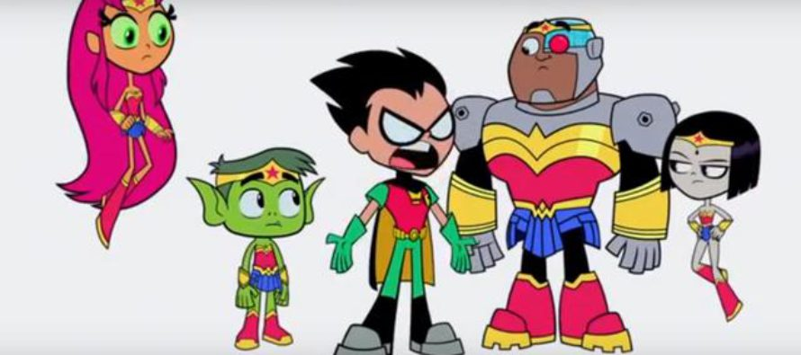 Teaser tráiler para Teen Titans Go! To The Movies