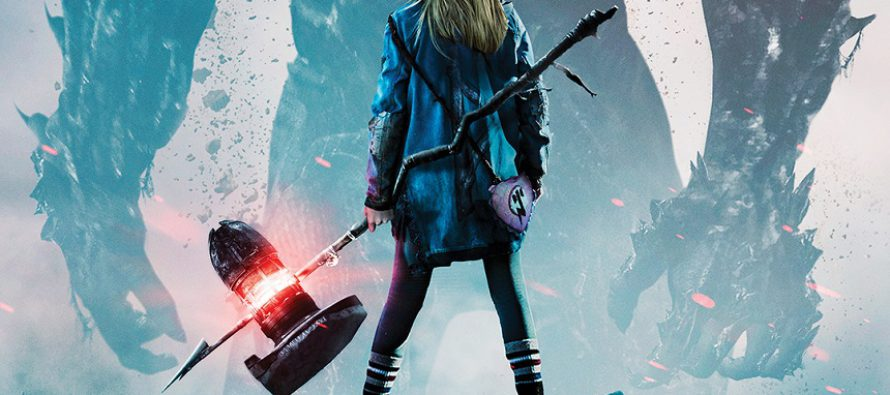 Poster oficial para la adaptación de I Kill Giants