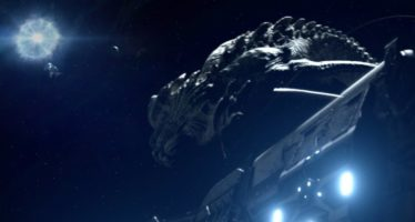 Monstruos en el espacio en Beyond White Space
