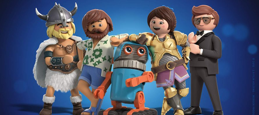 Tráiler para Playmobil: The Movie